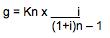 Formel 2 zur berechnung der Annuitätenmethode